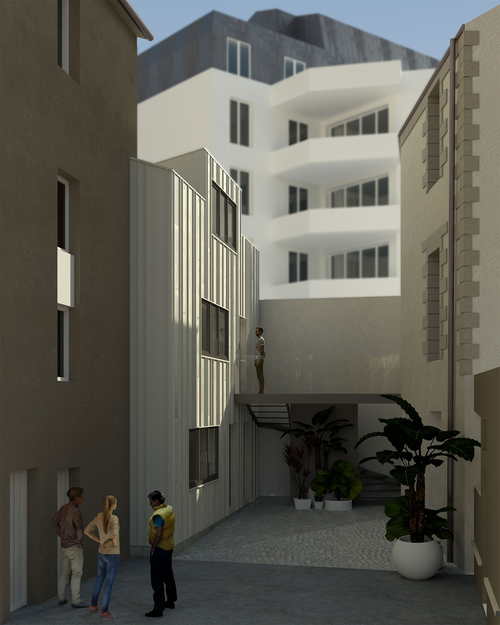 Immeuble Nantes