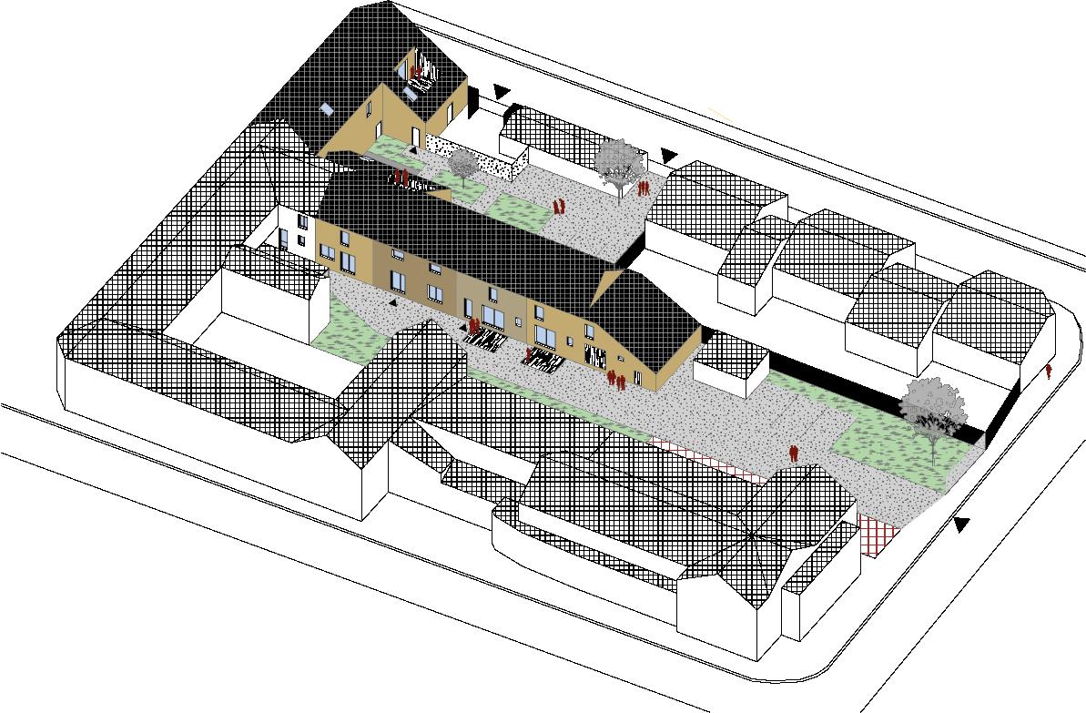 Réhabilitation bâtiments création de logements sociaux